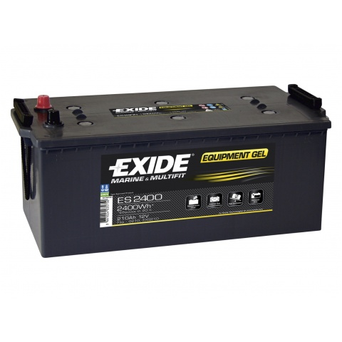 Akumulator 12V 210Ah EXIDE EQUIPMENT GEL ES2400