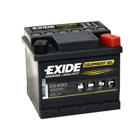 Akumulator 12V 40Ah EXIDE EQUIPMENT GEL ES450