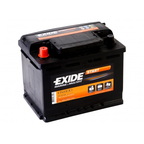 Akumulator 12V 62Ah EXIDE START EN600