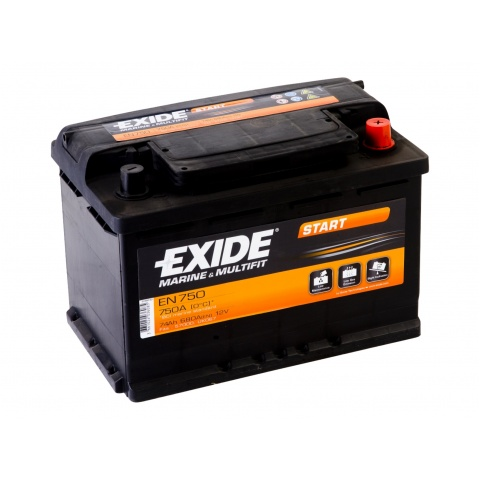 Akumulator 12V 74Ah EXIDE START EN750