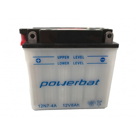 Akumulator 12V 7Ah 12N7-4A MP POWERBAT