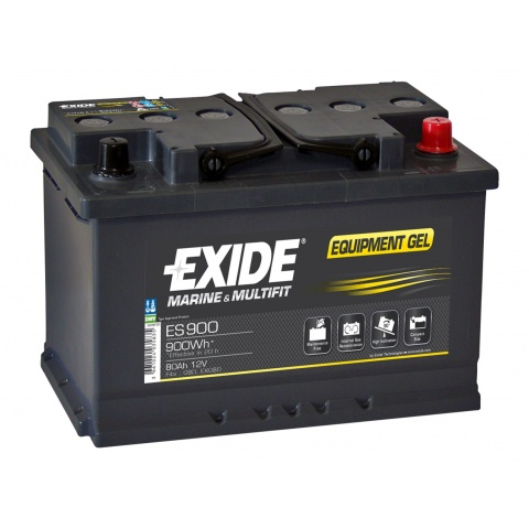 Akumulator 12V 80Ah EXIDE EQUIPMENT GEL ES900